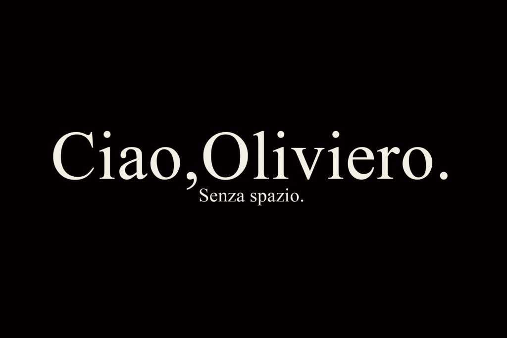 Ciao,Oliviero.