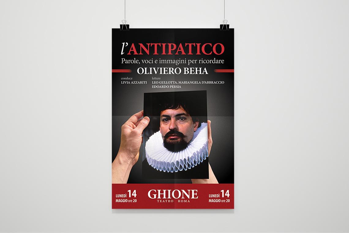 L'antipatico - Il Poster